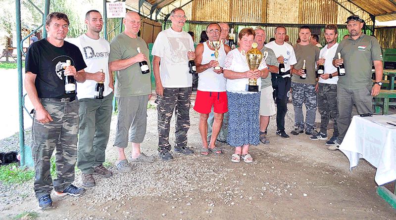 A DCM tó csapata nyerte a vándorkupát
